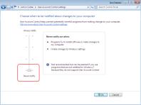 Windows 7 UAC